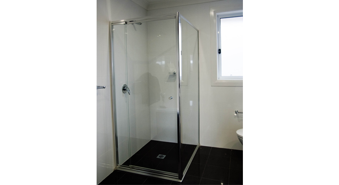 Semi Frameless Shower Screens -
